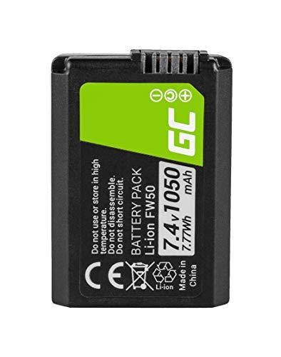 Green Cell® NP-FW50 Batería para Sony Alfa Alpha 7 7R A7 A7R...