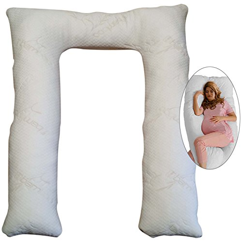 U-Shaped Organic Latex Body Pillow