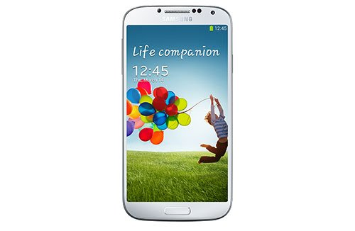 Samsung Galaxy S4 i9505 Smartphone (12,7 cm (4.99 Zoll) AMOLED-Touchscreen, 16 GB interner Speicher, 13 Megapixel Kamera, LTE, Android 4.2) white-frost