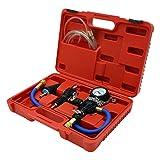 Set universal comprobador circuito refrigeración vehículo Kit Purga Rellenado Sistema refrigeración