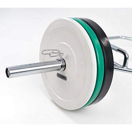 Toorx - Bilanciere olimpionico esagonale con doppia impugnatura (Shrug Bar) carico max. 300 Kg.