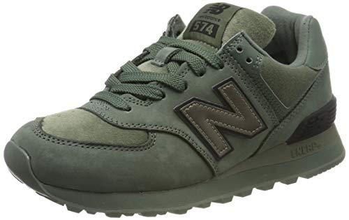 New Balance Damen 574v2 Sneaker, Grün (Green Green), 44 EU