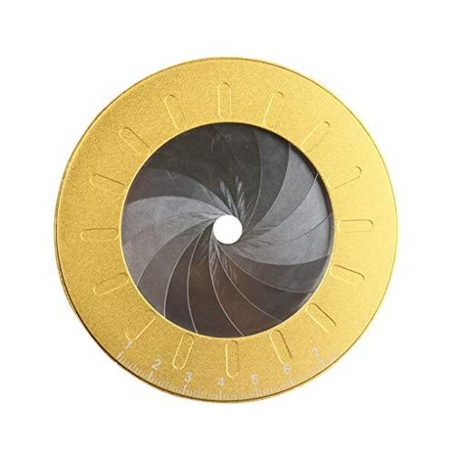 Qingfaqui Die Kreis-Zeichnung-Hersteller-Werkzeug-Edelstahl-Kreis Kreis-Vorlage Kreis Vorlage Einstellbare Mess Zeichnung, Lineal,