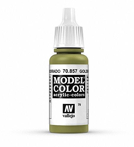 Vallejo Peinture acrylique pour modélisme 17 ml Golden Olive
