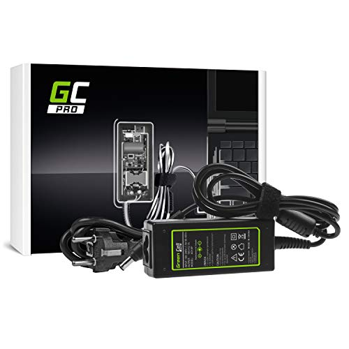 GC Pro Cargador para Portátil Samsung NP-NB30-KA01 NP-NC10-11GP NP-NC10-13GB NP-NC10-14GB Ordenador Adaptador de Corriente (19V 2.1A 40W)