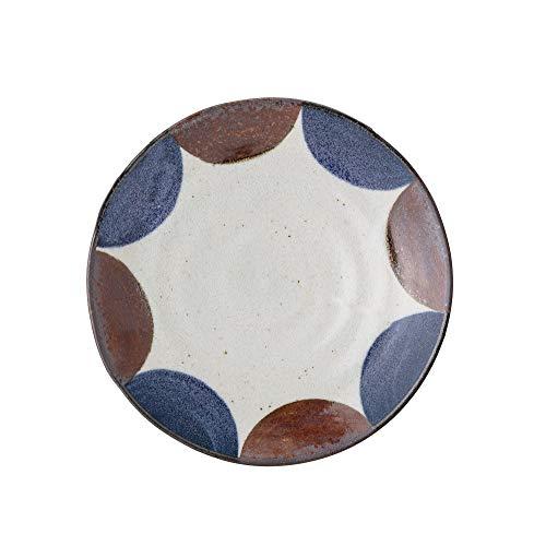 Bloomingville Cuenco Camelli de porcelana azul