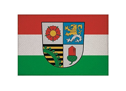 UB Aufnäher Landkreis Altenburger Land Flagge/Fahne Aufbügler Patch 9 cm x 6 cm Neuware!!!
