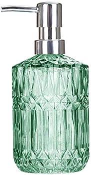 Tisuzxcv Hand Glass Soap Dispenser, 12 Oz