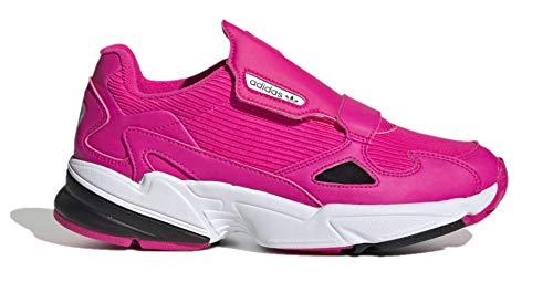 Zapatillas deportivas adidas Originals Falcon para mujer, rosa (Shock Rosa/Núcleo Negro/Blanco Nube), 37.5 EU