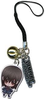 Vampire Knight Yuki Metal Cell Phone Charm Keychain GE-6306