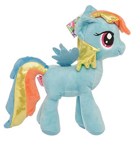 My Little Pony Knuffel Knuffels voor kinderen, meisjes, Glitter Mane Glitter Wings Twilight Sparkle 27 cm (violet)  (blauw)