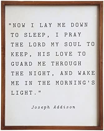 Top 10 Best now i lay me down to sleep wall art Reviews
