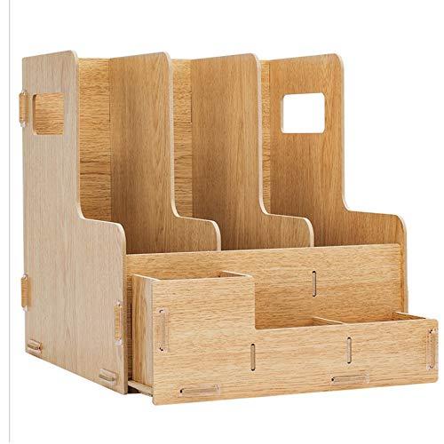 TXYJ Bamboe frame organizer - Mini bureau opslag voor kantoorbenodigdheden, toiletartikelen, ambachten, enz. - Ideaal voor bureaus, dressoirs, thuis of op kantoor desktops