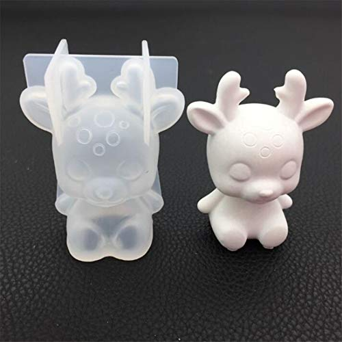 Yingwei Hirsch Form DIY Schmuck Werkzeuge Epoxidharz Kristall Anhänger Transparent Epoxy Silikonform