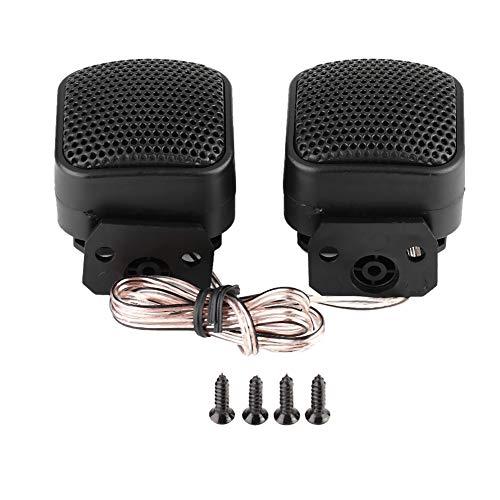 EBTOOLS 2pcs Auto kleiner Quadratischer Lautsprecher lauter Audiomusik Hochtöner Lautsprecher 500W