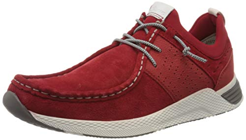 Sioux Herren Grash-H201-47 Sneaker, Rot (Rosso 005), 40 EU