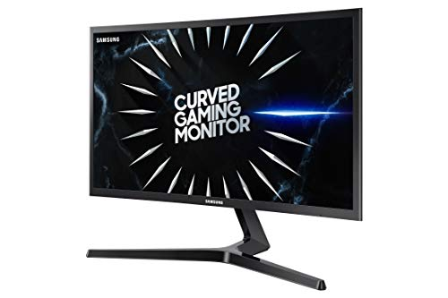 SAMSUNG 24-Inch CRG5 144Hz Curved Gaming Monitor (LC24RG50FQNXZA) – Computer Monitor, 1920 x 1080p Resolution, 4ms Response, FreeSync, Game...