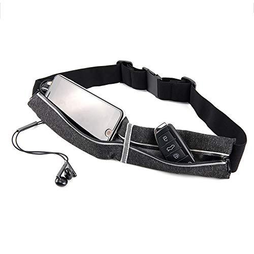 Riñoneras Belt Universal,Deportivo Cinturón de Correr y Prueba de Sudor para Ejercicios para iPhone 12 Mini/12/12 Pro/11/11 Pro/11 Pro MAX/Pixel 4/Pixel 4 XL/Galaxy S10 S10 Plus S10e (Green)