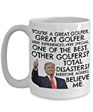 Trump Golf Coffee Mug, Golf Present For Men, Trump Golf Mug, Funny Trump Mugs, Golfer Coffee Mug, Golfer Trump Present, Best Golfer Birthday Present, Funny G GFNSRL