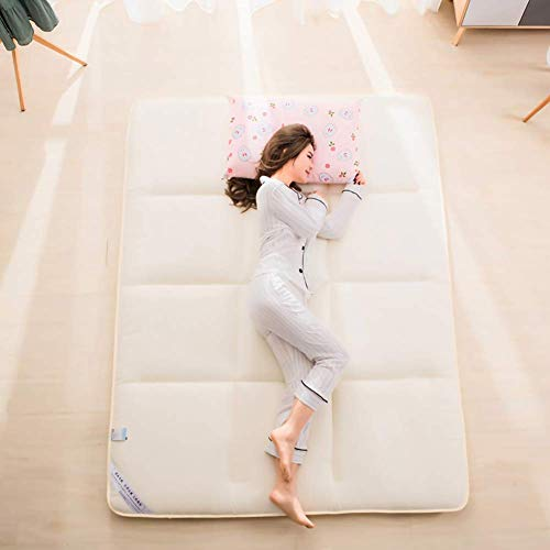 GuoEY Comfortable Tatami Mattress Breathable Floor Mattress Sleeping Pad,Baby Play Mat Exercise Yoga Mat For Bedroom Living Room D 90×200cm(35.4×78inch)