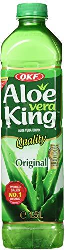 OKF Premium Aloe Vera Juice Drink, 1.5 Litre, Pack of 12