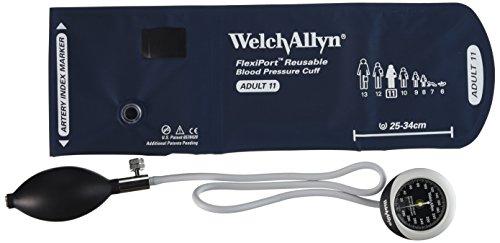 welchallyn DS45-11-Pluviómetro con Durable una pieza Manguito para adultos