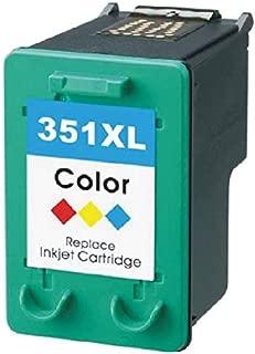 Nero//Colore BONINK Compatibili HP 350XL 350 XL 351XL Cartucce dinchiostro per HP Photosmart C4280 C4380 C4480 C4580 C5280 D5360 Officejet J5780 J6424