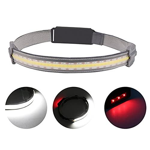 LANGYA LED Head Lamp USB Faro Recargable Mini Faro portátil Linterna Impermeable para Acampar al Aire Libre cazando Pesca