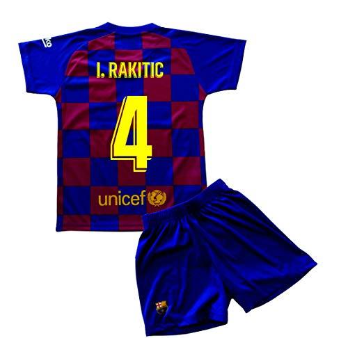 Champion's City Set Trikot und Hose für Kinder zur Erstausstattung – FC Barcelona – Replik – Spieler 6 Jahre 4 - I. Rakitic