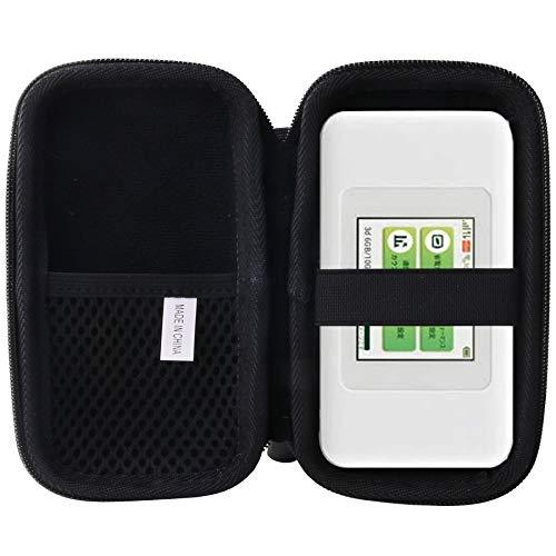 用の UQ W06 Speed Wi-Fi NEXT モバイルルーター ケース 専用保護 収納ケース -waiyu JP