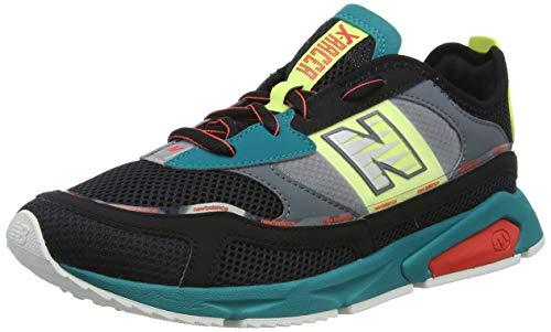 New Balance X-Racer MSXRCHNP - Zapatillas deportivas para hombre, color negro Negro 41½