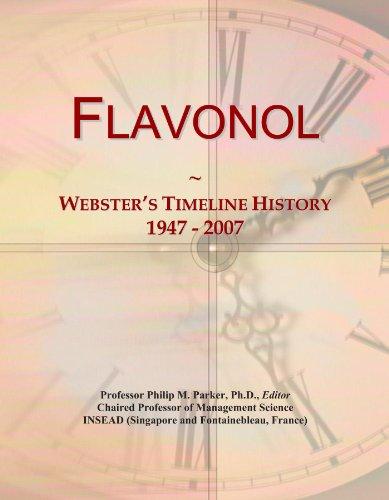 Flavonol: Webster's Timeline History, 1947 - 2007