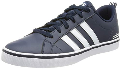 adidas Vs Pace, Baskets Homme, Collegiate Navy/Footwear White/Blue, 42 EU