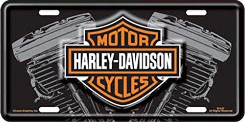 Harley Davidson Logo mit V-Twin Kennzeichen