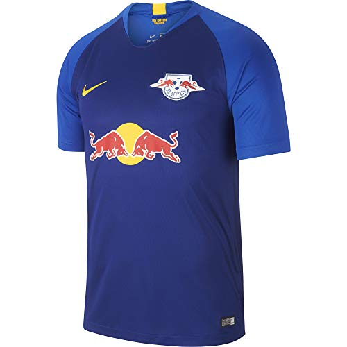 Nike Herren RB Leipzig Breathe Stadium Away T-Shirt, Deep Royal Blue/Tour Yellow, M