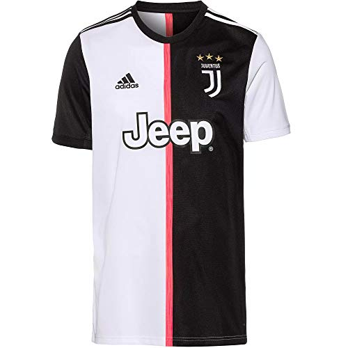 adidas Juve Trikot Home 19/20 (XL, Black/White)