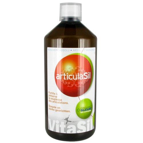 Vitasil - Articulasil buvable + huiles essentielles - 1000 ml flacon - Mobilité et articulations sai