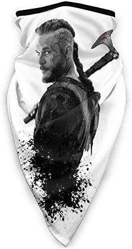 Lawenp Wikinger Ragnar Krieger König Gesicht Schal Bandanas für Staub, im Freien,...