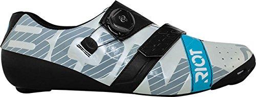 BONTRiotRoad+BOAサイクリングシューズ:Euro44.5Pearlホワイト/ブラック