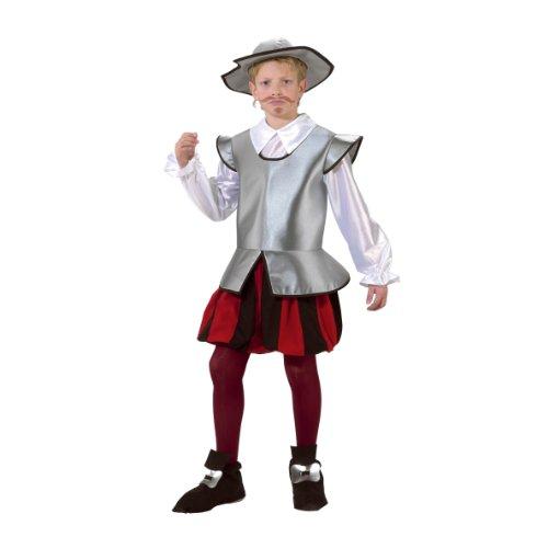 Nines d'Onil Export D7812 - Disfraz de caballero, para 5 - 7 años