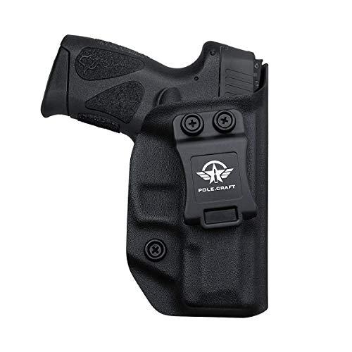 Taurus G2C Holsters, Kydex IWB Holster For Taurus G2C 9mm & Millennium PT111 G2 / PT140 9mm Funda Pistola Case - Inside Waistband Concealed Carry Holster Taurus G2C 9mm - Widened Entrance,
