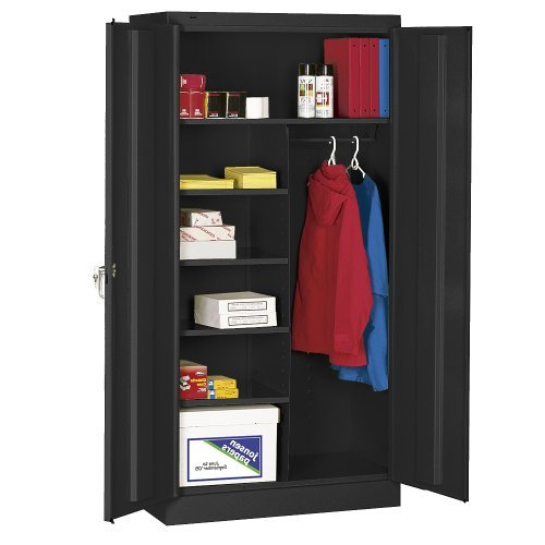 Tennsco Corp., Assembled Premium Combination Cabinets, Tncc-362478Ds, W X D X H: 36 X 24 X 78, Stock Status: Stock, Color: Light Grey, 7820