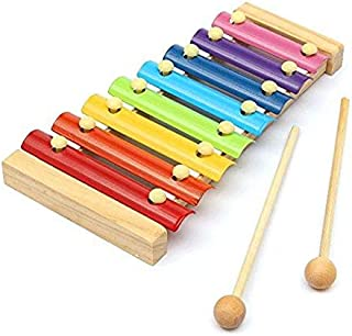 SKEIDO Piano Wooden Instrument For Children 8 Notes Xylophone Kids Toys