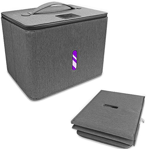 YOUR VIP SKIN - Bolsa Desinfectante ultravioleta de Luz UV – Caja Desinfectante Portátil – esterilizador UV - plegable y ligera – para Teléfonos, Ropa, Maquillaje – Lámpara UV