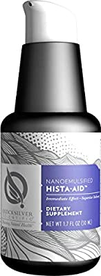Quicksilver Scientific Nanoemulsified Hista-Aid - Liposomal Seasonal Support with Flavonoids, Vitamin C + Diindolylmethane (DIM) to Assist in Histamine Break Down (1.7oz / 50ml)
