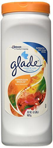 Glade Carpet and Room Refresher, Deodorizer for Home, Pets, and Smoke, Hawaiian Breeze, 32 Oz, Pack of 1