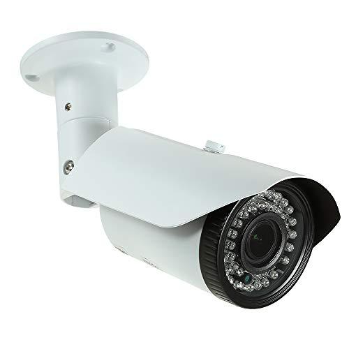Owsoo Bewakingscamera HD 5 MP (2592 x 1944) PoE IP-camera 2,8~12 mm Varifocus, handmatige zoom, H.264/H.265 optioneel 1/2,7 inch voor Sensor Mstar COMS IR-Cut 42 stuks IR-lampen