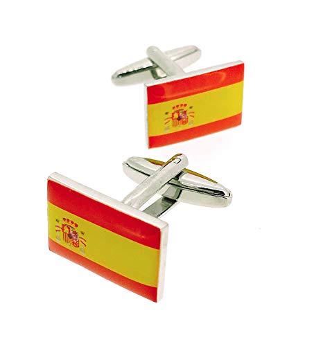 Gemelos para camisa Bandera España