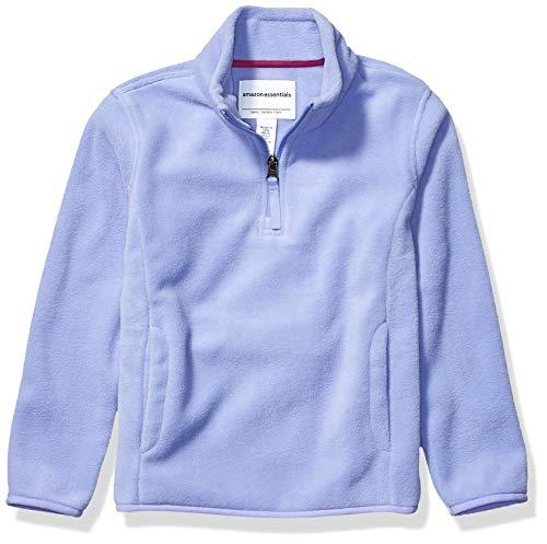 Amazon Essentials Quarter-Zip Polar Fleece Jacket Veste en polaire, Periwinkle Purple, M (M (8)