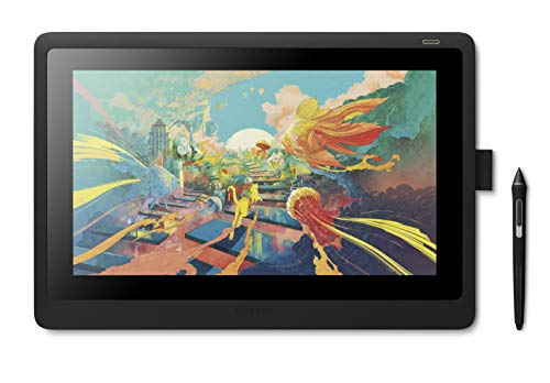 Amazon.co.jp限定ワコム 液タブ 液晶ペンタブレット Wacom Cintiq 16 FHD ブラック アマゾンオリジナルデータ特典付き DTK1660K1D